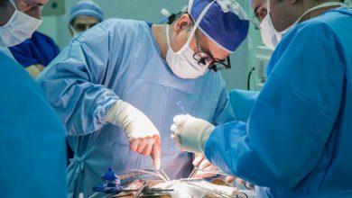 تصویر از بخش جراحی قلب باز