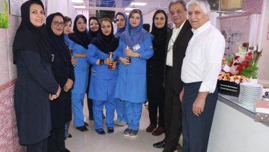 تصویر از تبریک مدیرعامل محترم به ماماهای ساعی و پر توان بیمارستان به مناسبت روز جهانی ماما ۱۳۹۸