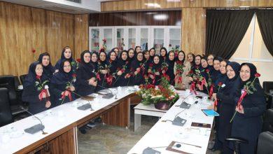 تصویر از مراسم بزرگداشت روز پرستار در بیمارستان مهر