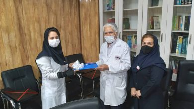 تصویر از جلوه ایثارگری پرستار بیمارستان مهر یادآور رزمندگان جبهه سلامت